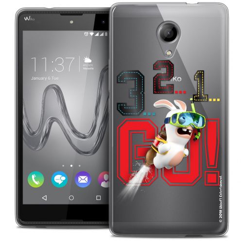 Coque Gel Wiko Robby Extra Fine Lapins Crétins™ - 321 Go !