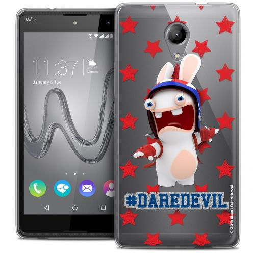 Coque Gel Wiko Robby Extra Fine Lapins Crétins™ - Dare Devil