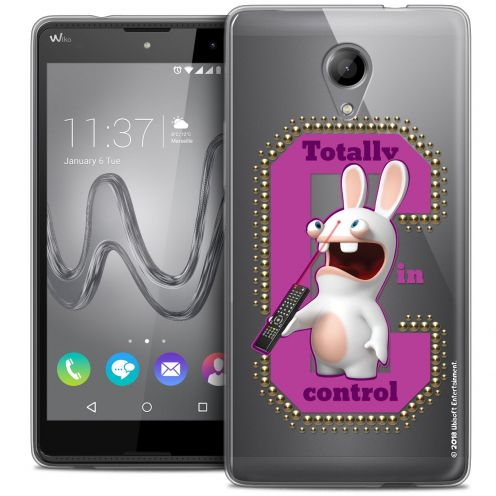 Coque Gel Wiko Robby Extra Fine Lapins Crétins™ - In Control !