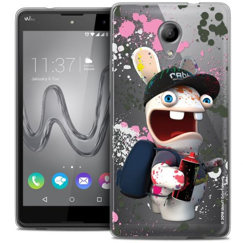 Coque Gel Wiko Robby Extra Fine Lapins Crétins™ - Painter