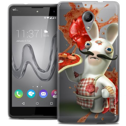 Coque Gel Wiko Robby Extra Fine Lapins Crétins™ - Cuisinier