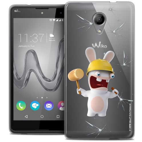 Coque Gel Wiko Robby Extra Fine Lapins Crétins™ - Breaker