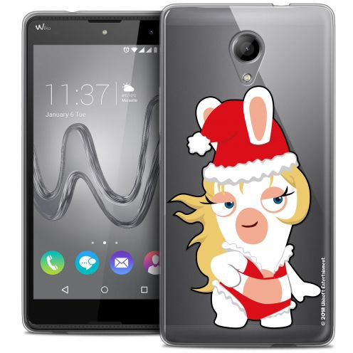 Coque Gel Wiko Robby Extra Fine Lapins Crétins™ - Lapin Danseuse