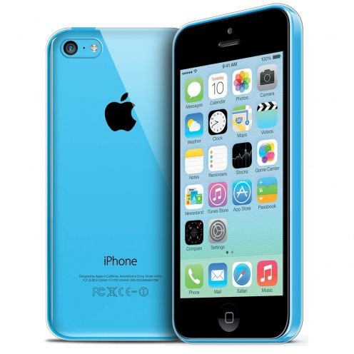 Coque Ultra Fine 0.5mm Souple Crystal Clear View pour Apple iPhone 5c