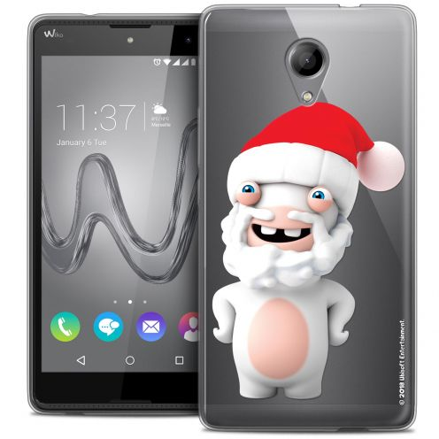 Coque Gel Wiko Robby Extra Fine Lapins Crétins™ - Lapin Noël