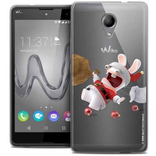 Coque Gel Wiko Robby Extra Fine Lapins Crétins™ - Père Lapin Crétin