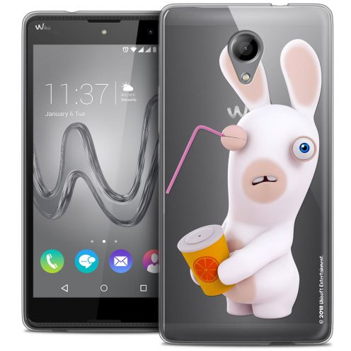 Coque Gel Wiko Robby Extra Fine Lapins Crétins™ - Soda Crétin