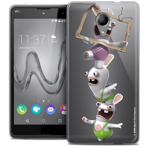 Coque Gel Wiko Robby Extra Fine Lapins Crétins™ - TV Sport