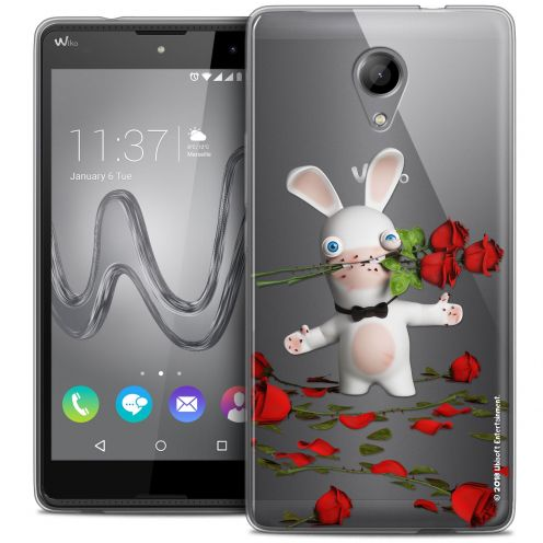 Coque Gel Wiko Robby Extra Fine Lapins Crétins™ - Gentleman Crétin