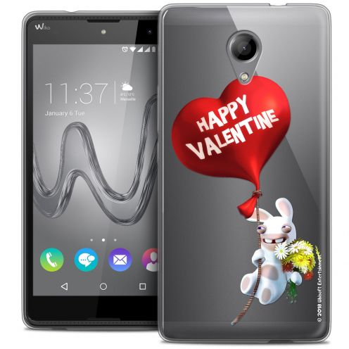 Coque Gel Wiko Robby Extra Fine Lapins Crétins™ - Valentin Crétin