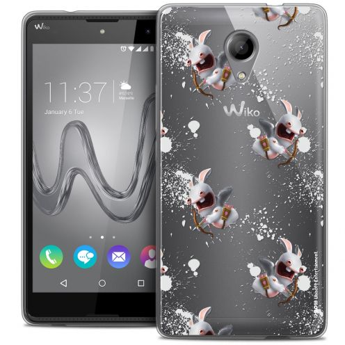 Coque Gel Wiko Robby Extra Fine Lapins Crétins™ - Cupidon Pattern