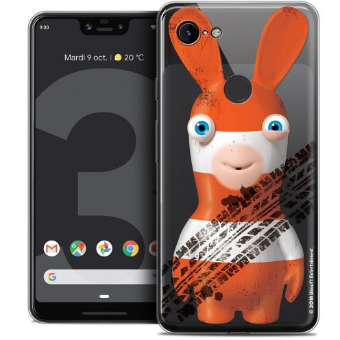 """Coque Gel Google Pixel 3 XL (6.3"""") Extra Fine Lapins Crétins™ - On the Road"""