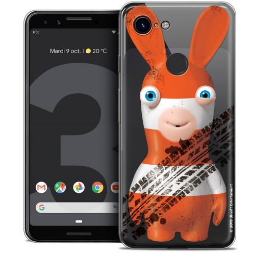 """Coque Gel Google Pixel 3 (5.5"""") Extra Fine Lapins Crétins™ - On the Road"""