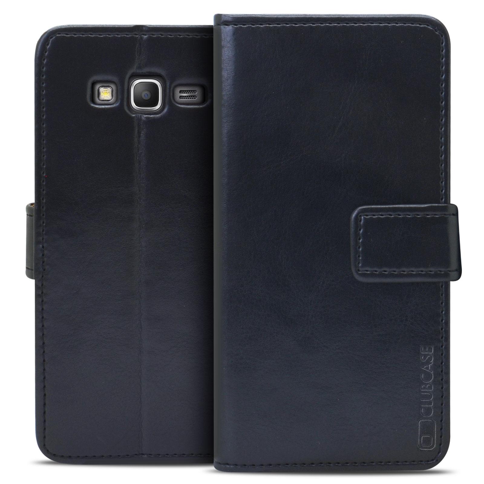 Coque Folio Stand Souple Samsung Galaxy Grand Prime Cuir Véritable ...