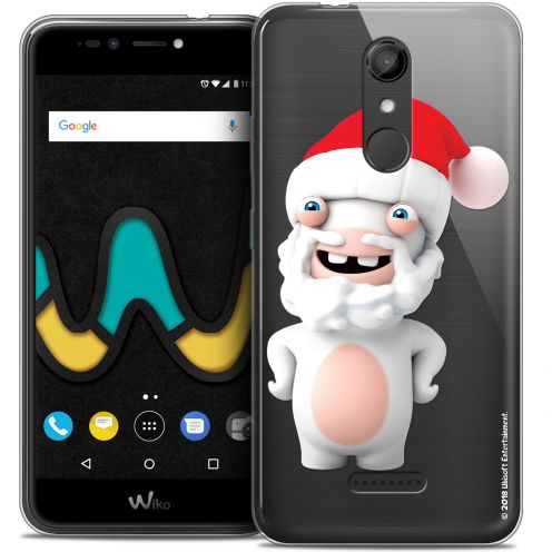 "Coque Gel Wiko U Pulse (5.5"") Extra Fine Lapins Crétins™ - Lapin Noël"