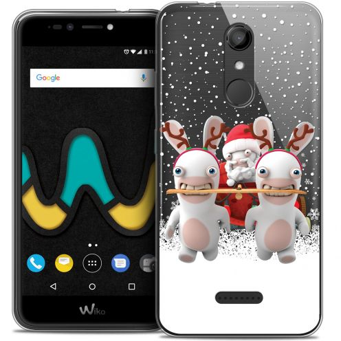 "Coque Gel Wiko U Pulse (5.5"") Extra Fine Lapins Crétins™ - Lapin Traineau"