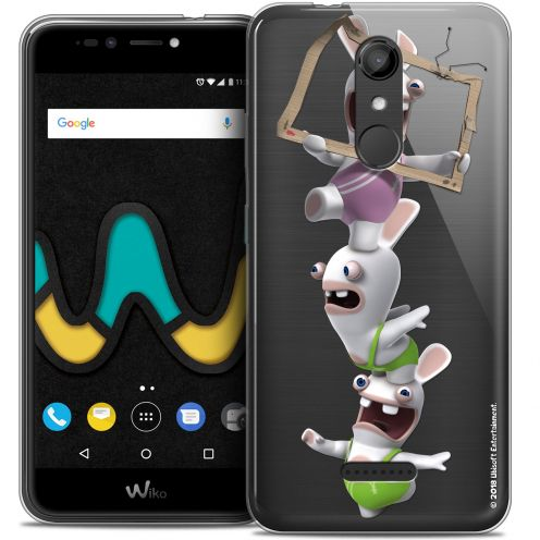 "Coque Gel Wiko U Pulse (5.5"") Extra Fine Lapins Crétins™ - TV Sport"