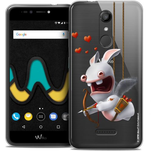 "Coque Gel Wiko U Pulse (5.5"") Extra Fine Lapins Crétins™ - Flying Cupidon"