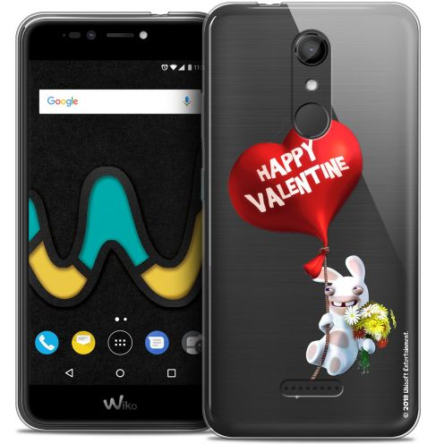 "Coque Gel Wiko U Pulse (5.5"") Extra Fine Lapins Crétins™ - Valentin Crétin"