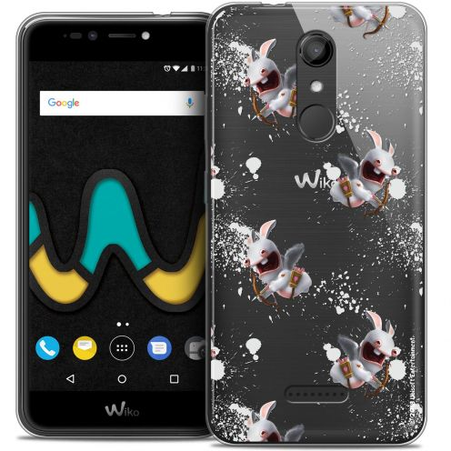 "Coque Gel Wiko U Pulse (5.5"") Extra Fine Lapins Crétins™ - Cupidon Pattern"