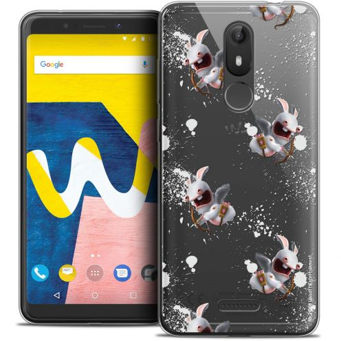 """Coque Gel Wiko View LITE (5.45"""") Extra Fine Lapins Crétins™ - Cupidon Pattern"""
