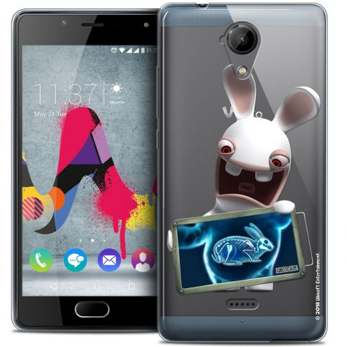 Coque Gel Wiko U Feel LITE Extra Fine Lapins Crétins™ - X Ray Crétin