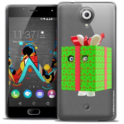 Coque Gel Wiko U Feel Extra Fine Lapins Crétins™ - Lapin Surprise Vert