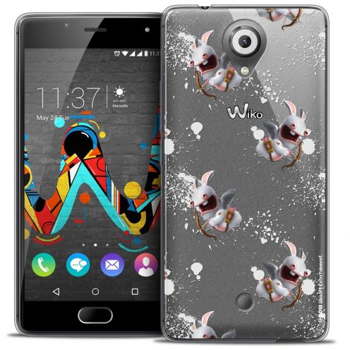 Coque Gel Wiko U Feel Extra Fine Lapins Crétins™ - Cupidon Pattern