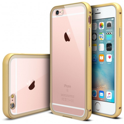 Bumper Apple iPhone 6s/6 Glass Aluminium Champagne