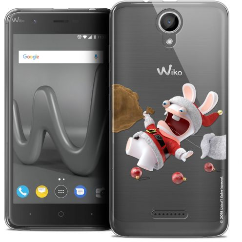 "Coque Gel Wiko Harry (5"") Extra Fine Lapins Crétins™ - Père Lapin Crétin"