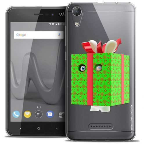 """Coque Gel Wiko Lenny 4 (5"""") Extra Fine Lapins Crétins™ - Lapin Surprise Vert"""