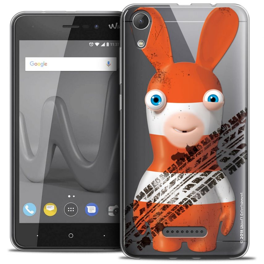 """Coque Gel Wiko Lenny 4 (5"""") Extra Fine Lapins Crétins™ - On the Road"""