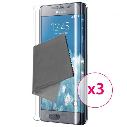 Films de protection Samsung Galaxy Note Edge Clubcase® TPU 3H Full Cover HD Lot de 3