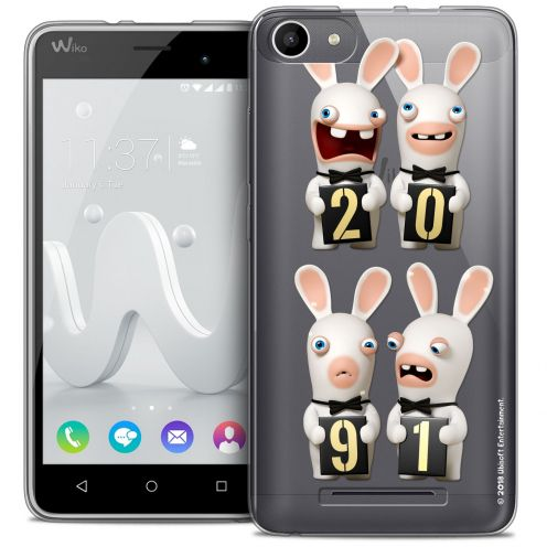 Coque Gel Wiko Jerry Extra Fine Lapins Crétins™ - New Year
