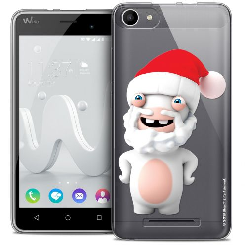 Coque Gel Wiko Jerry Extra Fine Lapins Crétins™ - Lapin Noël