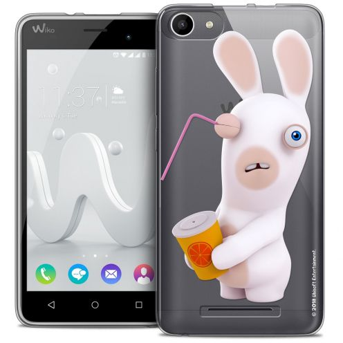 Coque Gel Wiko Jerry Extra Fine Lapins Crétins™ - Soda Crétin