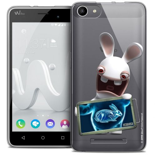 Coque Gel Wiko Jerry Extra Fine Lapins Crétins™ - X Ray Crétin