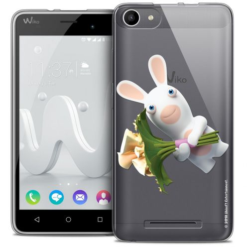 Coque Gel Wiko Jerry Extra Fine Lapins Crétins™ - Bouquet Crétin