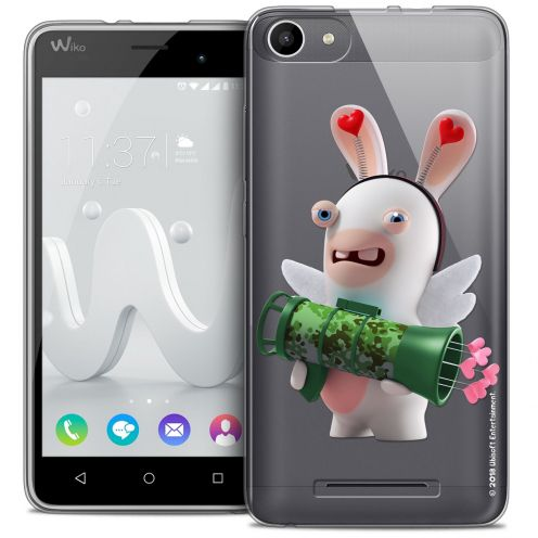 Coque Gel Wiko Jerry Extra Fine Lapins Crétins™ - Cupidon Soldat