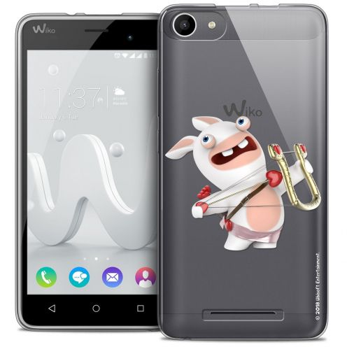 Coque Gel Wiko Jerry Extra Fine Lapins Crétins™ - Cupidon Crétin