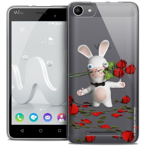 Coque Gel Wiko Jerry Extra Fine Lapins Crétins™ - Gentleman Crétin