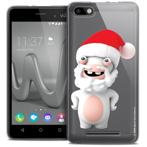 Coque Gel Wiko Lenny 3 Extra Fine Lapins Crétins™ - Lapin Noël