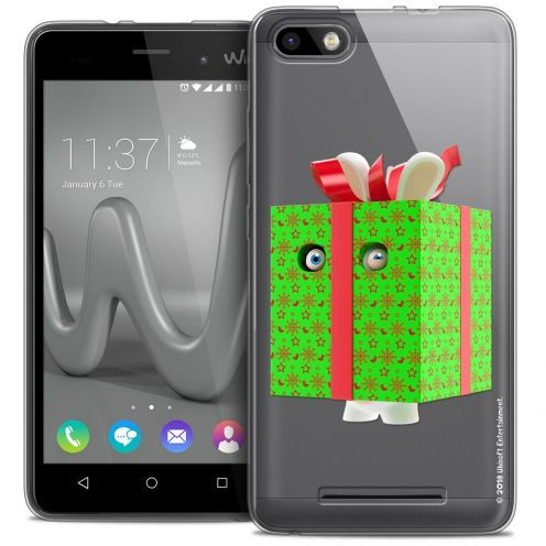 Coque Gel Wiko Lenny 3 Extra Fine Lapins Crétins™ - Lapin Surprise Vert