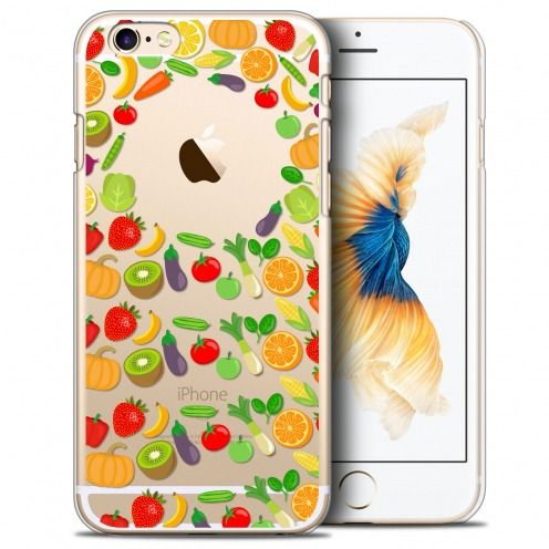 Coque Crystal iPhone 6/6s Extra Fine Foodie - Healthy