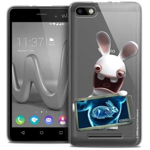 Coque Gel Wiko Lenny 3 Extra Fine Lapins Crétins™ - X Ray Crétin