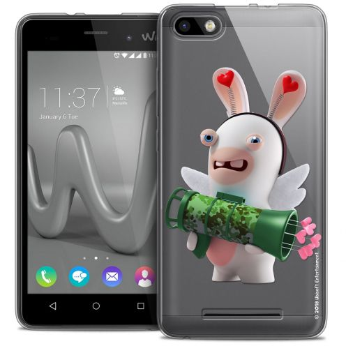 Coque Gel Wiko Lenny 3 Extra Fine Lapins Crétins™ - Cupidon Soldat