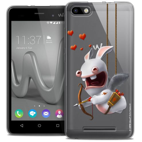 Coque Gel Wiko Lenny 3 Extra Fine Lapins Crétins™ - Flying Cupidon