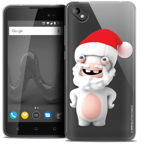 """Coque Gel Wiko Sunny 2 PLUS (5"""") Extra Fine Lapins Crétins™ - Lapin Noël"""