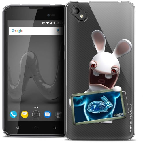 """Coque Gel Wiko Sunny 2 PLUS (5"""") Extra Fine Lapins Crétins™ - X Ray Crétin"""