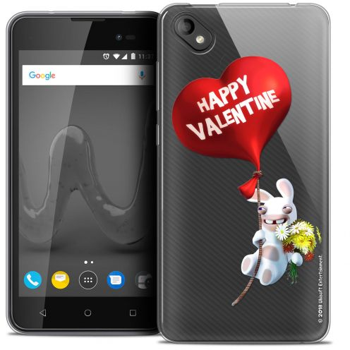 """Coque Gel Wiko Sunny 2 PLUS (5"""") Extra Fine Lapins Crétins™ - Valentin Crétin"""